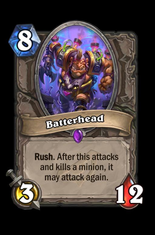 Batterhead Hearthstone kártya