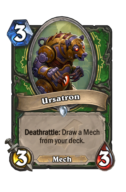 Ursatron Hearthstone kártya