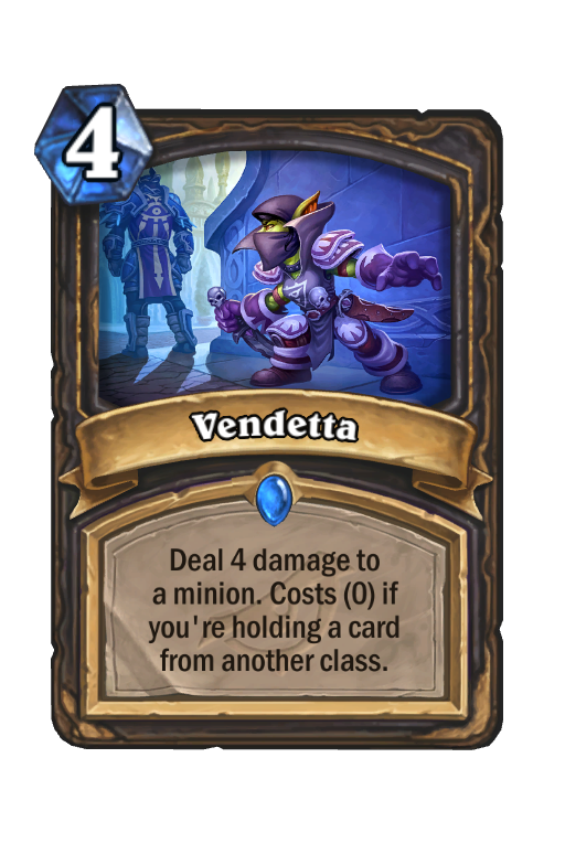 Vendetta Hearthstone kártya