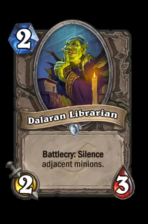 Dalaran Librarian Hearthstone kártya