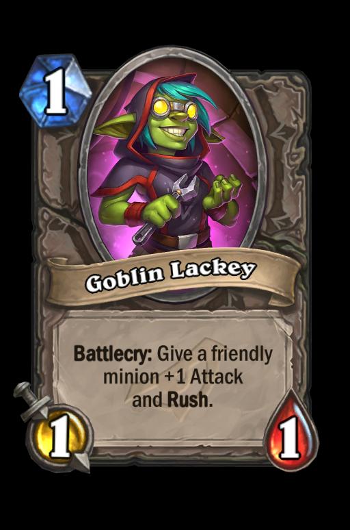 Goblin Lackey Hearthstone kártya