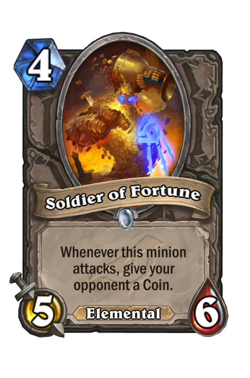 Soldier of Fortune Hearthstone kártya