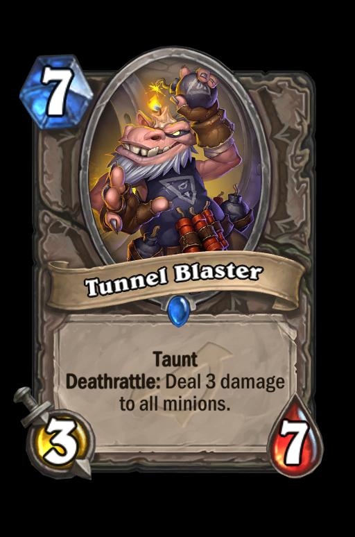 Tunnel Blaster Hearthstone kártya
