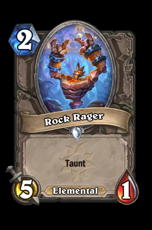 Rock Rager Hearthstone kártya