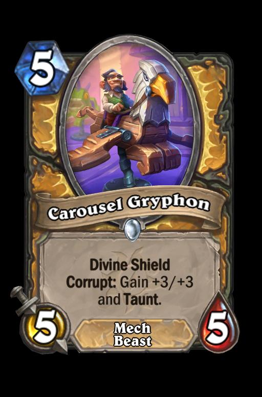 Carousel Gryphon Hearthstone kártya