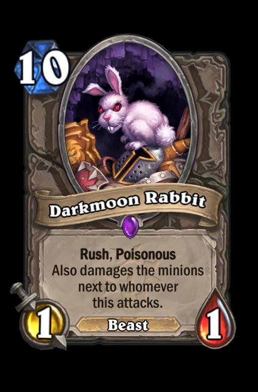 Darkmoon Rabbit Hearthstone kártya