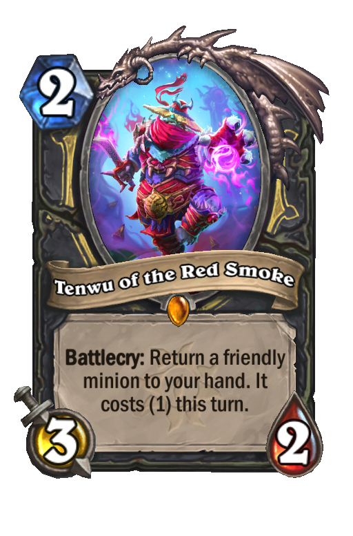 Tenwu of the Red Smoke Hearthstone kártya