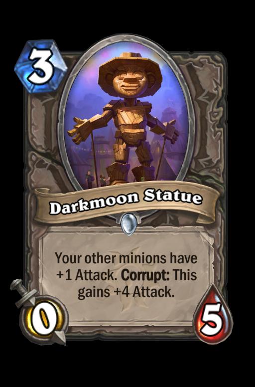 Darkmoon Statue Hearthstone kártya