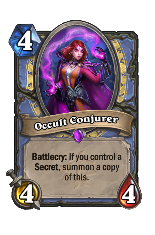 Occult Conjurer Hearthstone kártya