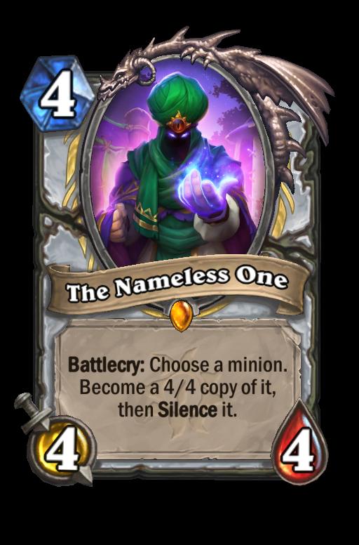 The Nameless One Hearthstone kártya