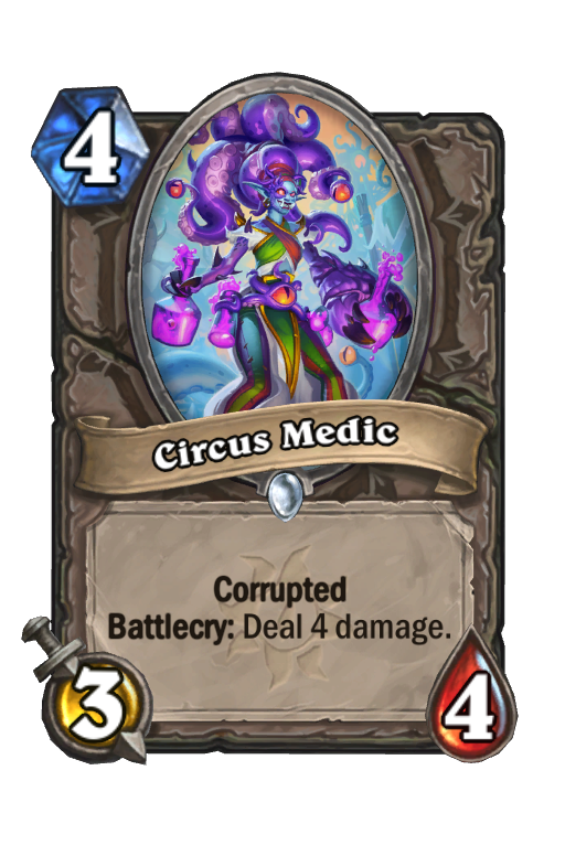 Circus Medic Hearthstone kártya