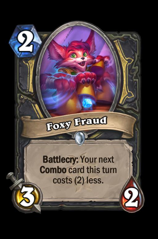 Foxy Fraud Hearthstone kártya