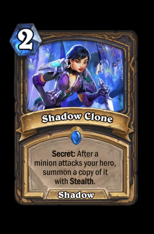 Shadow Clone Hearthstone kártya
