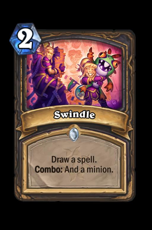 Swindle Hearthstone kártya
