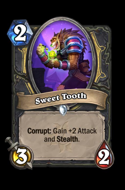 Sweet Tooth Hearthstone kártya
