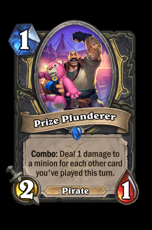 Prize Plunderer Hearthstone kártya
