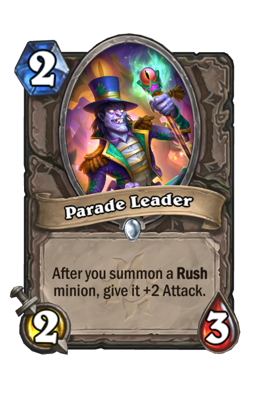 Parade Leader Hearthstone kártya