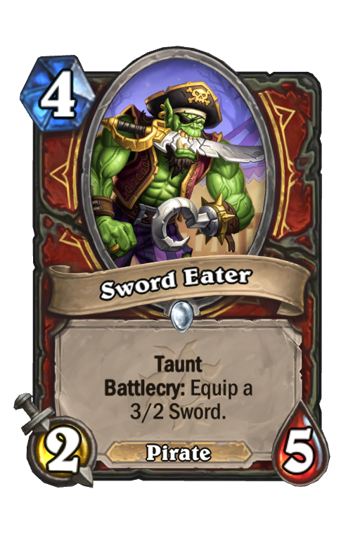 Sword Eater Hearthstone kártya