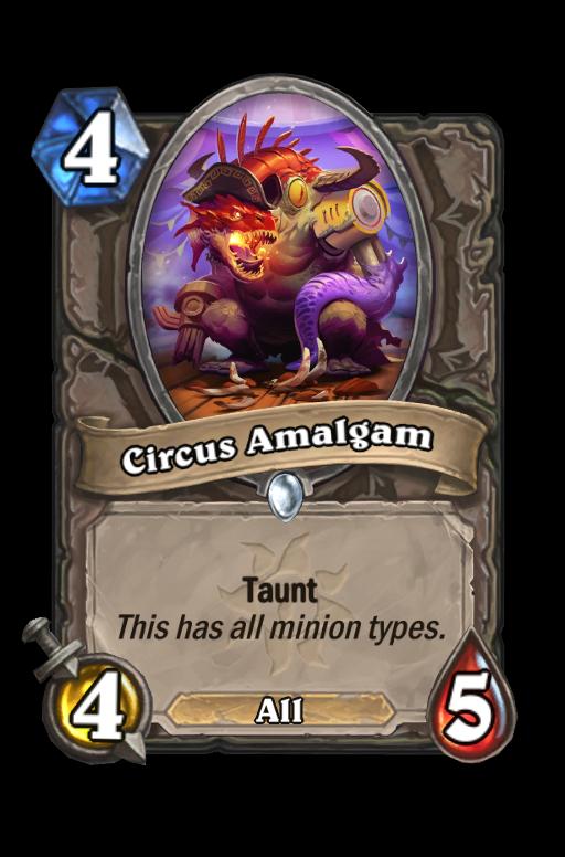 Circus Amalgam Hearthstone kártya