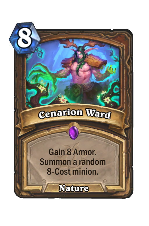 Cenarion Ward Hearthstone kártya
