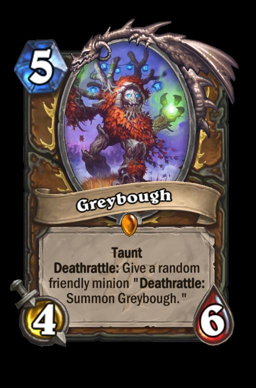 Greybough Hearthstone kártya