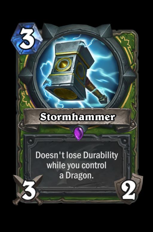 Stormhammer Hearthstone kártya