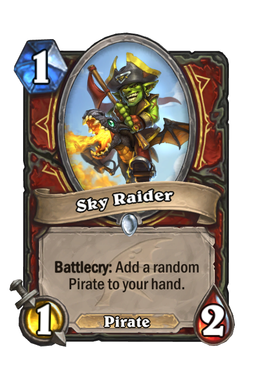 Sky Raider Hearthstone kártya