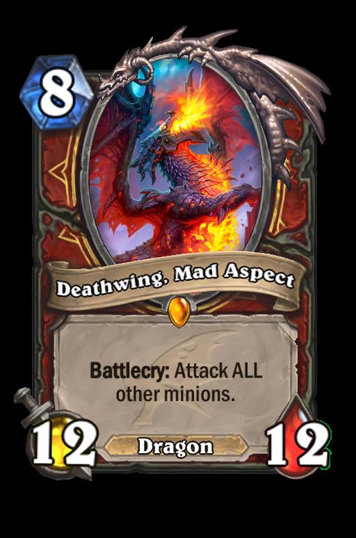 Deathwing, Mad Aspect Hearthstone kártya