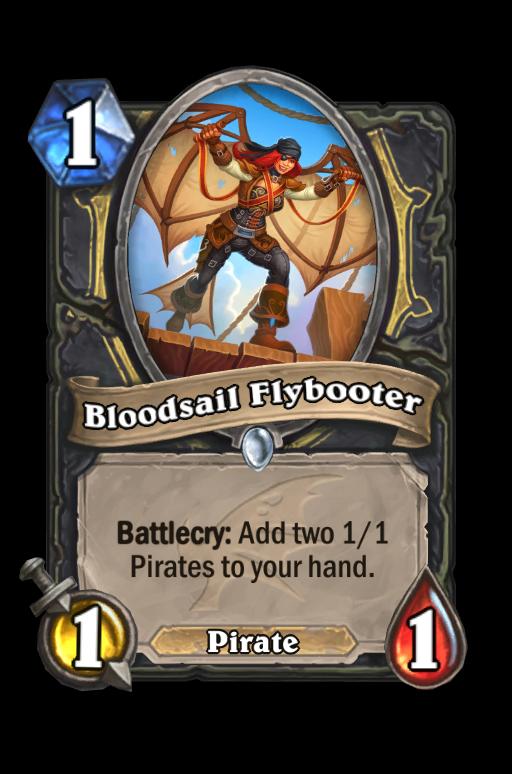 Bloodsail Flybooter Hearthstone kártya