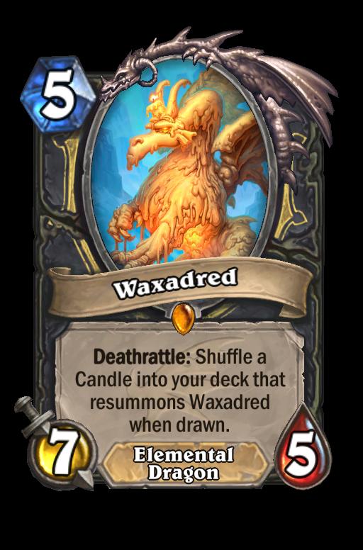 Waxadred Hearthstone kártya