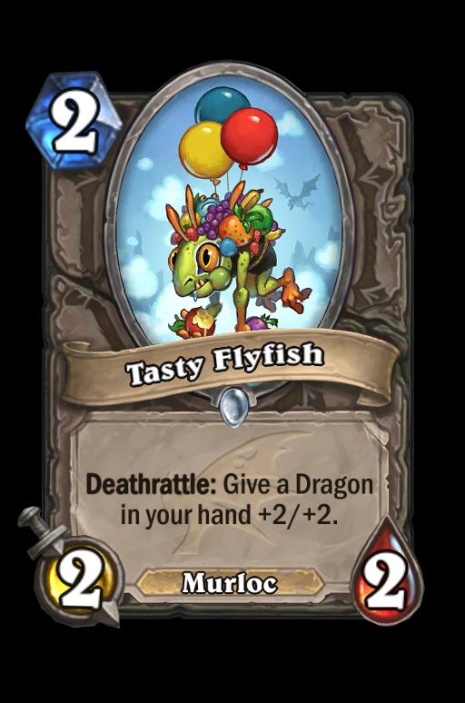 Tasty Flyfish Hearthstone kártya