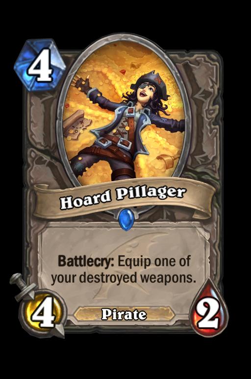 Hoard Pillager Hearthstone kártya