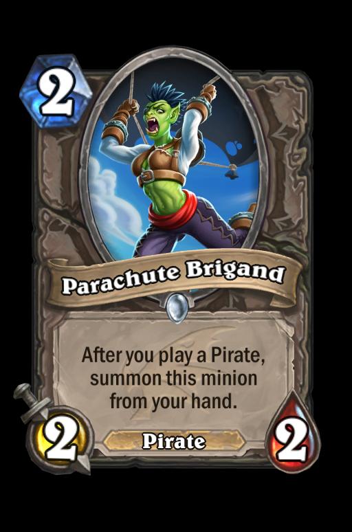 Parachute Brigand Hearthstone kártya