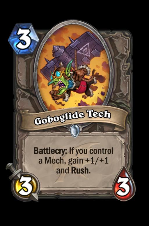 Goboglide Tech Hearthstone kártya