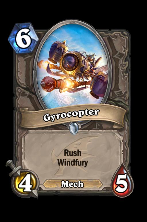 Gyrocopter Hearthstone kártya