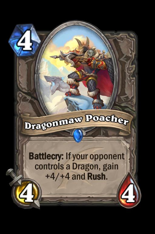 Dragonmaw Poacher Hearthstone kártya