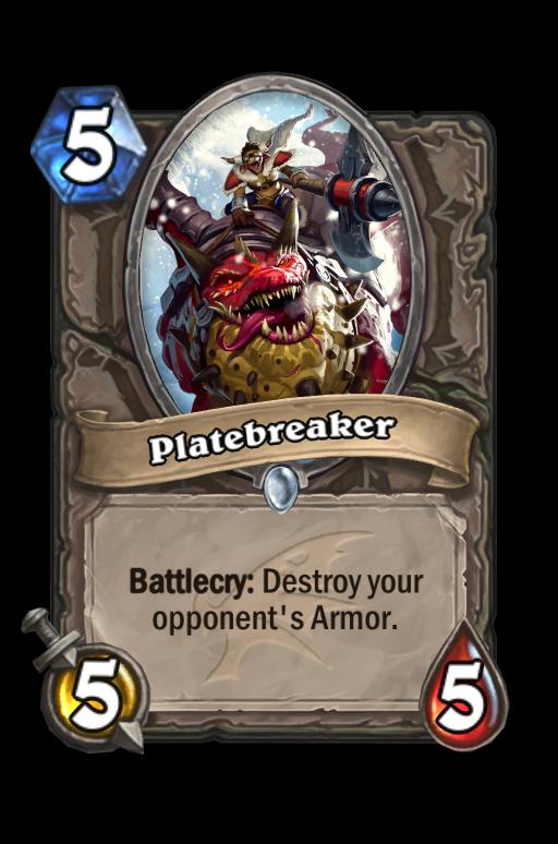 Platebreaker Hearthstone kártya
