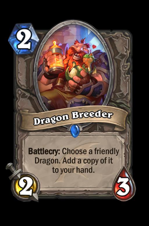 Dragon Breeder Hearthstone kártya