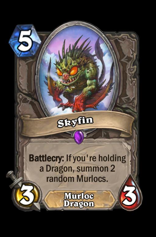 Skyfin Hearthstone kártya