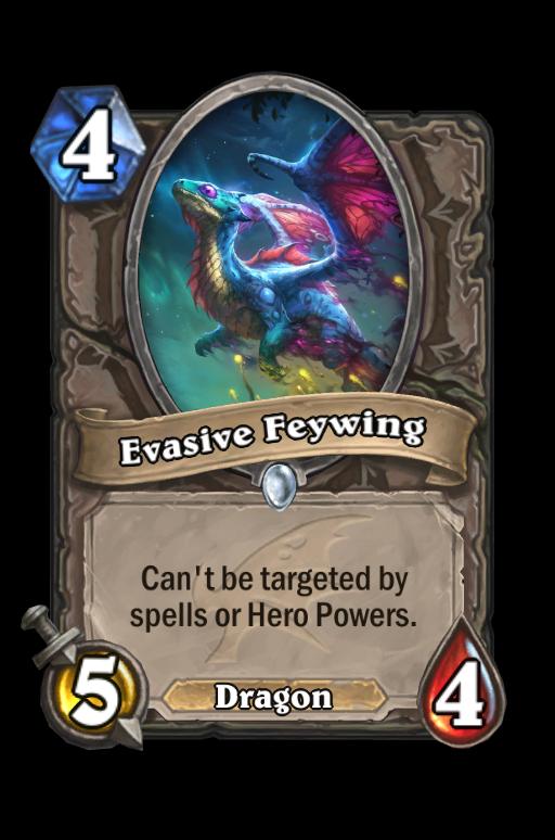 Evasive Feywing Hearthstone kártya
