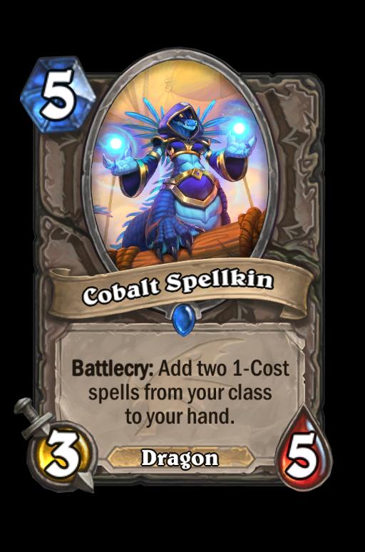 Cobalt Spellkin Hearthstone kártya