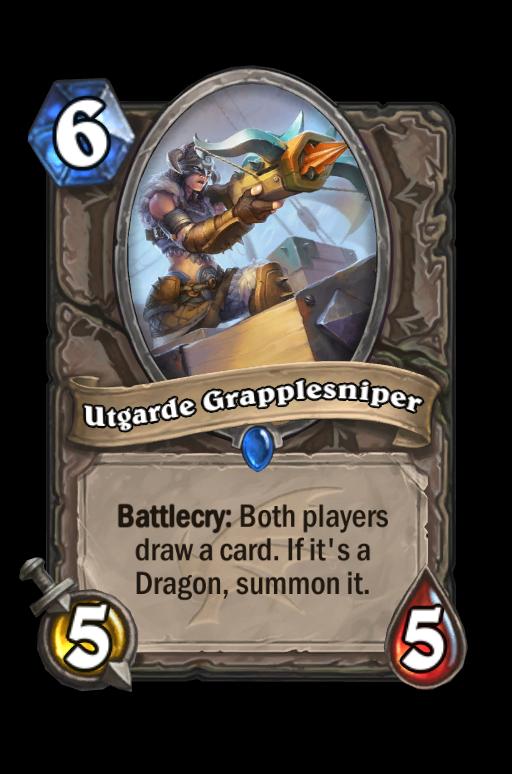 Utgarde Grapplesniper Hearthstone kártya