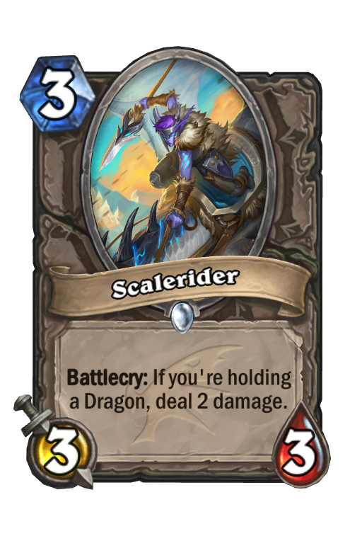 Scalerider Hearthstone kártya