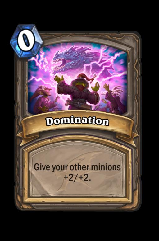 Domination Hearthstone kártya