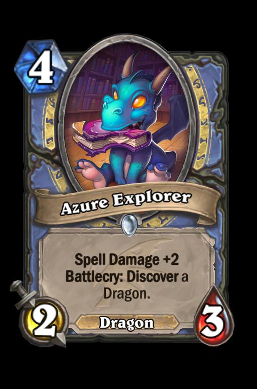 Azure Explorer Hearthstone kártya