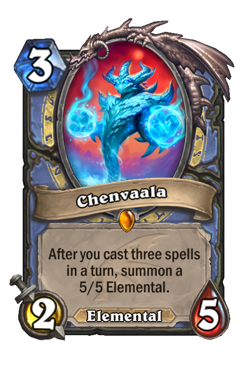 Chenvaala Hearthstone kártya