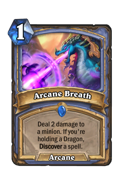 Arcane Breath Hearthstone kártya