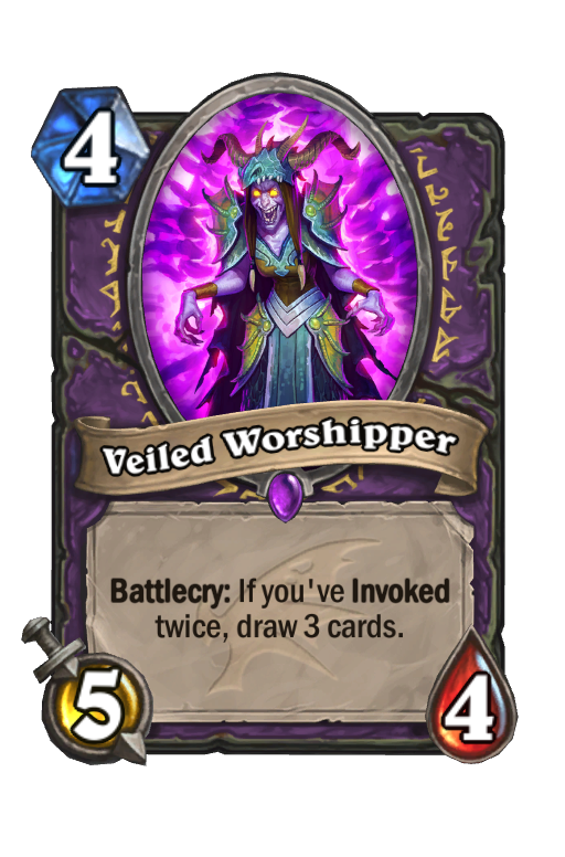 Veiled Worshipper Hearthstone kártya