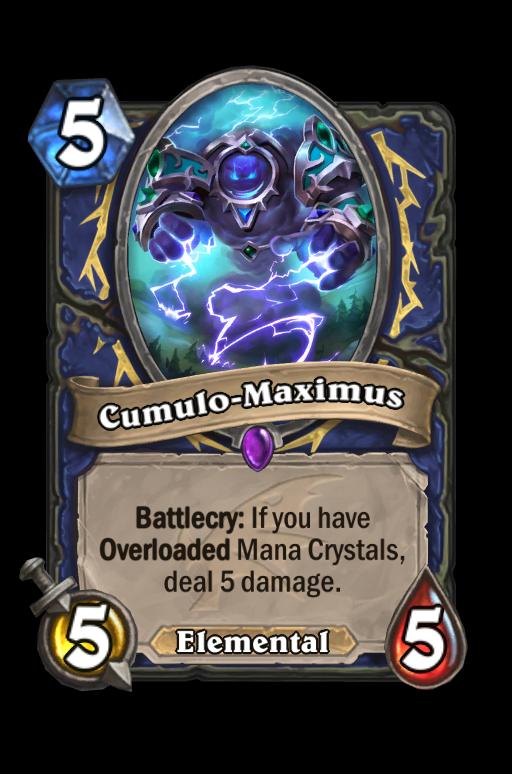 Cumulo-Maximus Hearthstone kártya