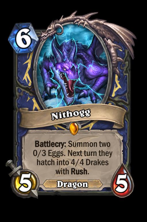 Nithogg Hearthstone kártya
